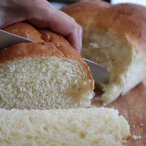 Pan brioche morbidissimo con la planetaria